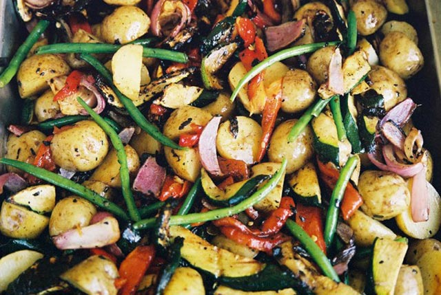 Chargrilled Vegetables